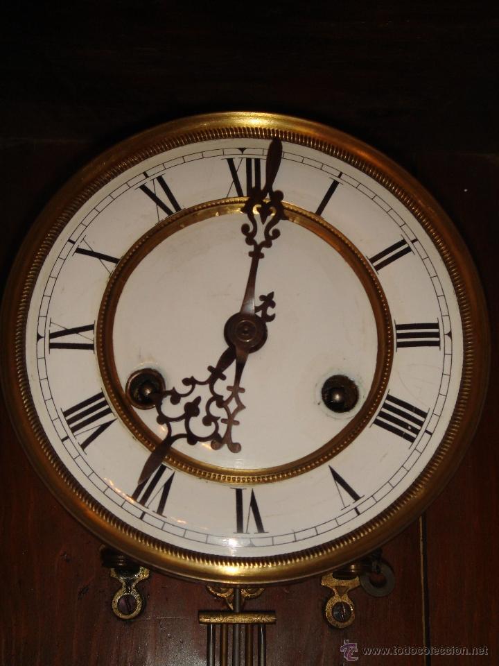 Relojes de pared: RELOJ DE PARED de péndulo bastante antiguo - Foto 3 - 40681113