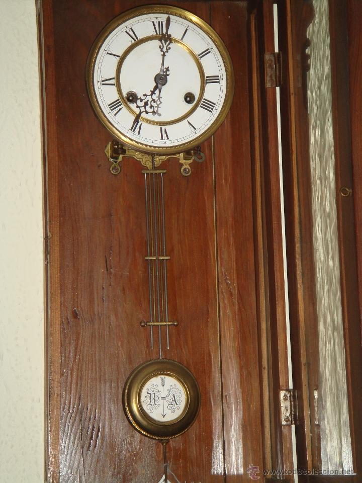 Relojes de pared: RELOJ DE PARED de péndulo bastante antiguo - Foto 4 - 40681113