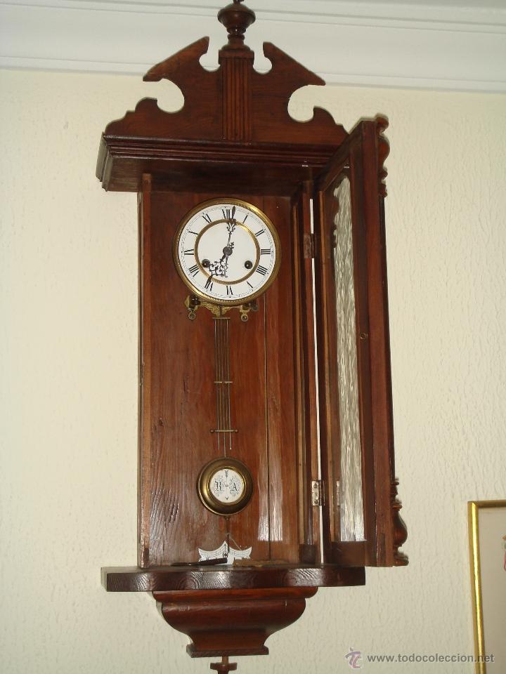 Relojes de pared: RELOJ DE PARED de péndulo bastante antiguo - Foto 5 - 40681113