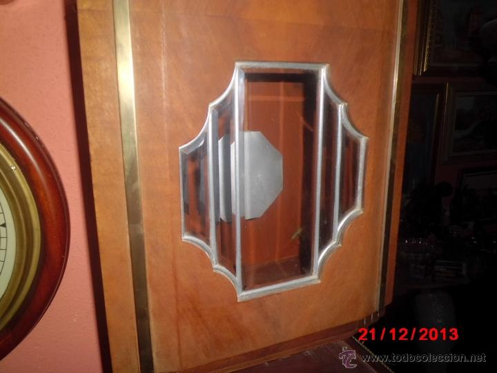 Relojes de pared: ANTIGUO RELOJ DE PARED CARRILLON, ART DECO. - Foto 3 - 40738530