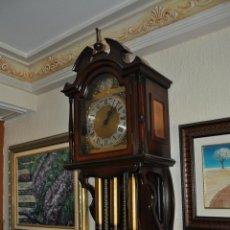 Relojes de pared: RELOJ DE PARED. PENDULO Y TRES PESAS. VER VIDEO. Lote 40915842