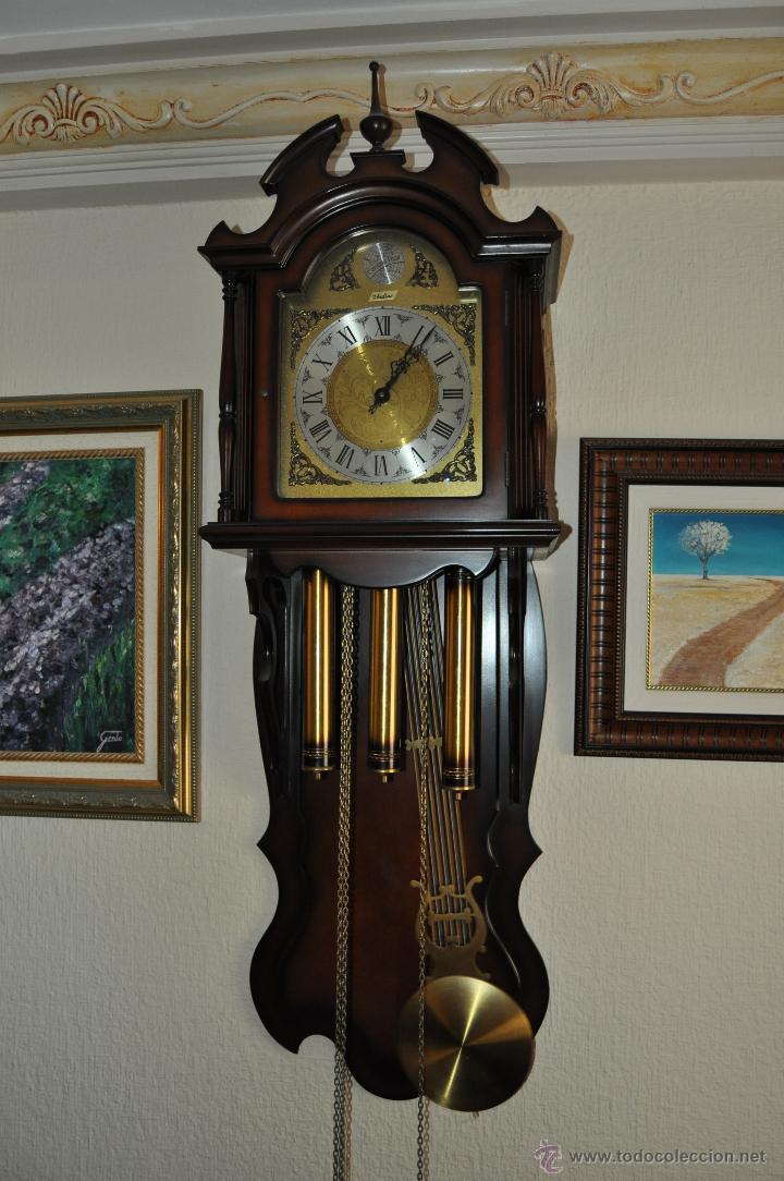 Reloj de pared pendulo y tres pesas ver video comprar - Relojes de pared ...