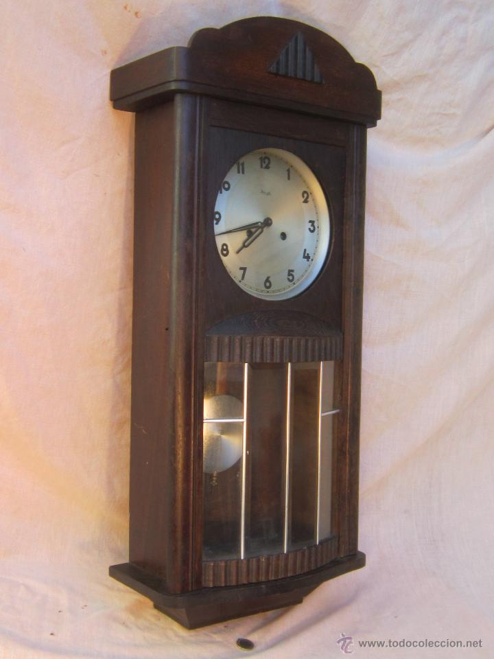 Reloj de pared antiguo kienzle comprar relojes antiguos for Reloj de pared antiguo