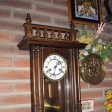 Relojes de pared: ! ANTIGUO RELOJ HENRI II- PFEILKREUZ-1900-10. Lote 41126927