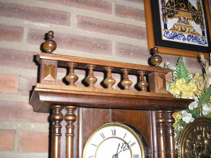 Relojes de pared: ! Antiguo Reloj Henri II- PFEILKREUZ-1900-10 - Foto 2 - 41126927