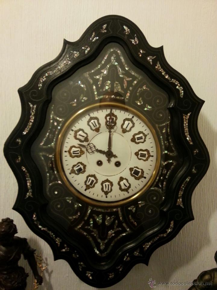 Reloj de pared ojo de buey con decoraciones en comprar relojes antiguos de pared carga manual - Relojes de decoracion ...