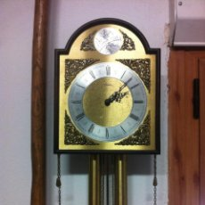 Relojes de pared: PRECIOSO RELOJ DE PARED TEMPUS FUGIT. COMPLETO.. Lote 97554447