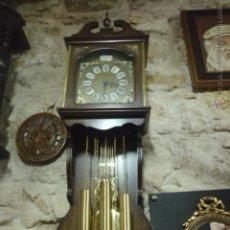 Relojes de pared: RELOJ DE PARED MARCA YORK 3 PESAS MIDE UN METRO 15 CM. Lote 41530830