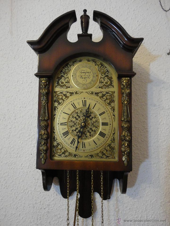 Reloj pared marca radiant pesas con p ndulo comprar for Reloj de pared con pendulo