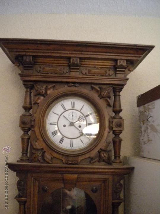 Relojes de pared: reloj alfosino de pared,restaurado, altura120 ancho 52 cm - Foto 5 - 42273986