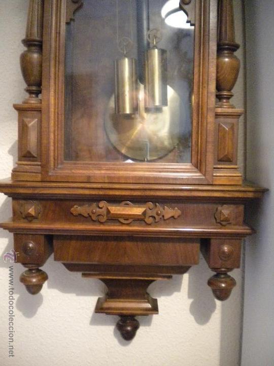 Relojes de pared: reloj alfosino de pared,restaurado, altura120 ancho 52 cm - Foto 6 - 42273986