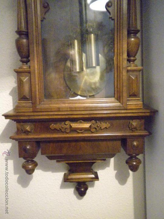Relojes de pared: reloj alfosino de pared,restaurado, altura120 ancho 52 cm - Foto 7 - 42273986
