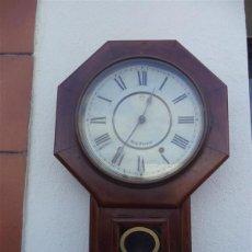 Relojes de pared: RELOJ DE PARED ANTIGUO USA. Lote 42425897