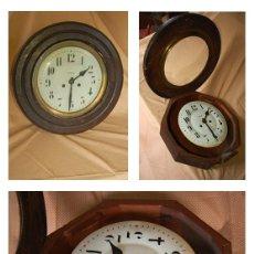 Relojes de pared: RELOJ ISABELINO REDONDO. Lote 42596614