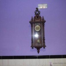 Relojes de pared: DELECIOSO Y FINO REGULADOR ALEMAN. Lote 42654830