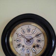 Relojes de pared: FABULOSO RELOJ OJO DE BUEY MAQUINA MOREZT VEAN FOTOS. Lote 42689553