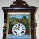Relojes de pared: RELOJ DE PARED SELVA NEGRA SIGLO XIX- 198-98. Lote 43449160