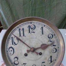 Relojes de pared: ANTIGUO RELOJ ALEMÁN DE PARED MARCA GUSTAV BECKER PARA RESTAURAR. Lote 43727196