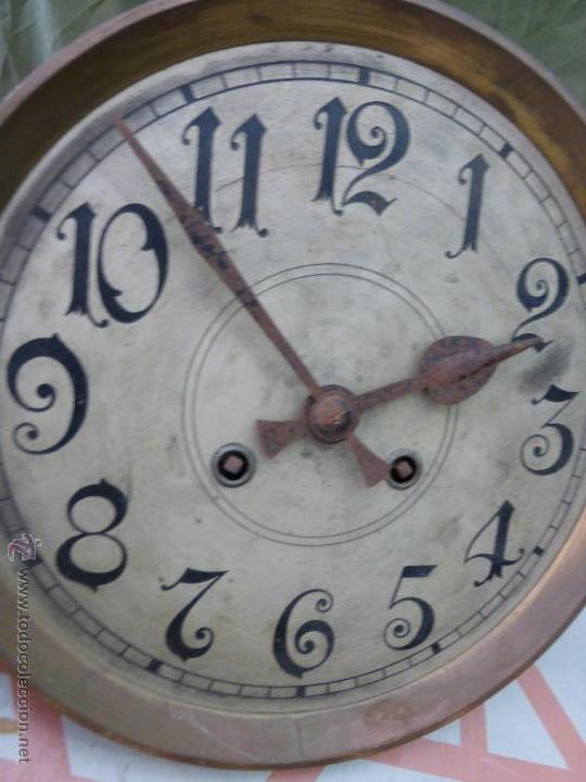 Relojes de pared: Antiguo reloj alemán de pared marca Gustav Becker - para restaurar - Foto 6 - 43727196