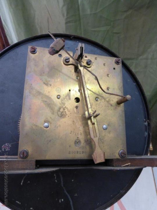 Relojes de pared: Antiguo reloj alemán de pared marca Gustav Becker - para restaurar - Foto 7 - 43727196