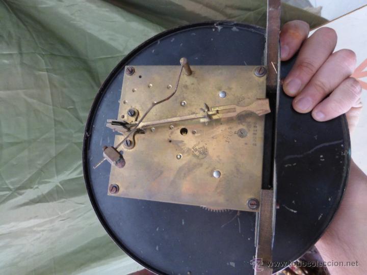 Relojes de pared: Antiguo reloj alemán de pared marca Gustav Becker - para restaurar - Foto 11 - 43727196
