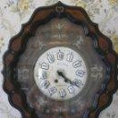 Relojes de pared: RELOJ DE PARED ISABELINO XIX-XX - 671. Lote 43844644