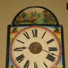 Relojes de pared: RELOJ SELVANEGRA EN FUNCIONAMIENTO. AÑO 1900. PINTADO CON MOTIVO VENECIANO.. Lote 30314129