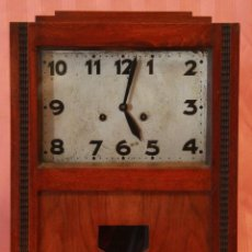 Relojes de pared: RELOJ ART DECO ,FUNCIONANDO. Lote 45022548
