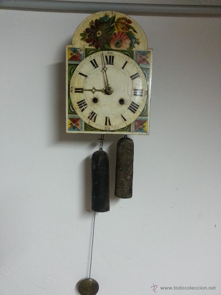 Antiguo reloj xix tipo ratonera selva negra con comprar - Relojes pared antiguos ...
