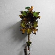 Relojes de pared: RELOJ DE CUCO -PERFECTO FUNCIONAMIENTO DE MAQUINARIA -AÑOS 60- . Lote 45084363