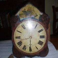 Relojes de pared: BONITA Y ANTIGUA RATERA. Lote 45136053