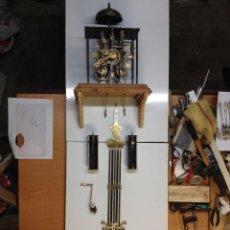 Relojes de pared: RELOJ MOREZ COMPLETAMENTE RESTAURADO Y ORIGINAL NUEVO DISEÑO L. Lote 45264646