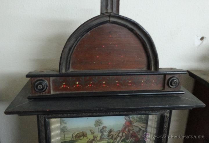 Relojes de pared: RELOJ DE PARED SELVA NEGRA SIGLO XIX, 6000-097 - Foto 3 - 43449097
