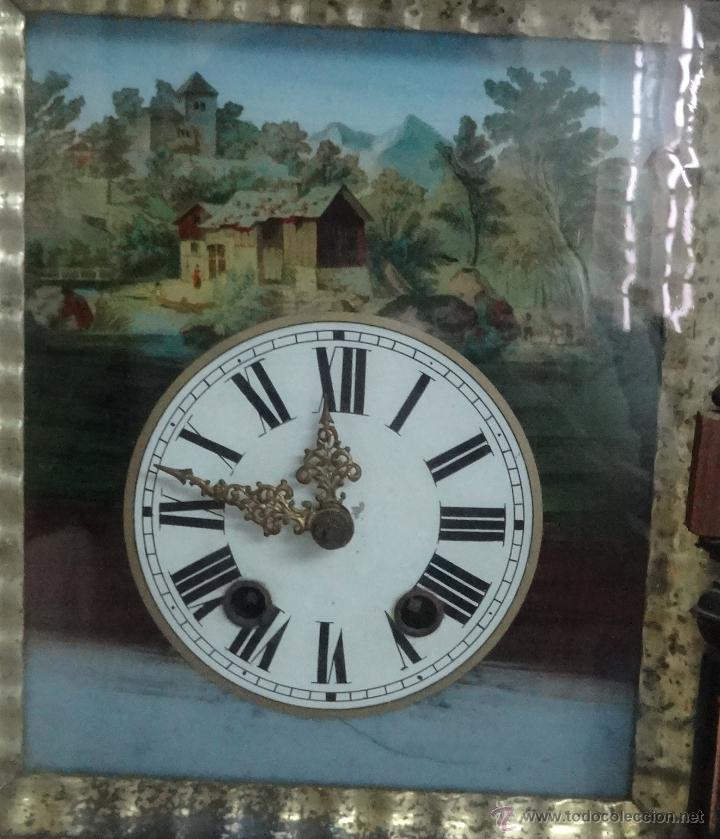 Relojes de pared: RELOJ DE PARED SELVA NEGRA SIGLO XIX, 6000-098 - Foto 3 - 43449160