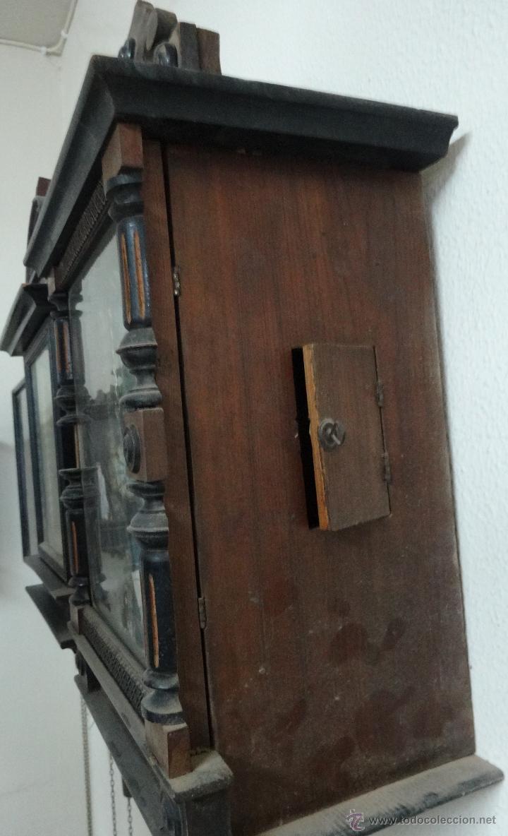 Relojes de pared: RELOJ DE PARED SELVA NEGRA SIGLO XIX, 6000-098 - Foto 5 - 43449160