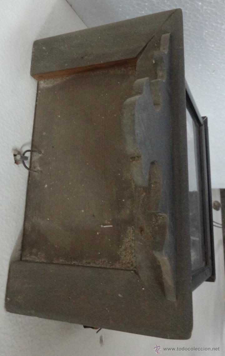 Relojes de pared: RELOJ DE PARED SELVA NEGRA CON COLUMNAS 1880 A 1915, 6000-095 - Foto 6 - 43449024