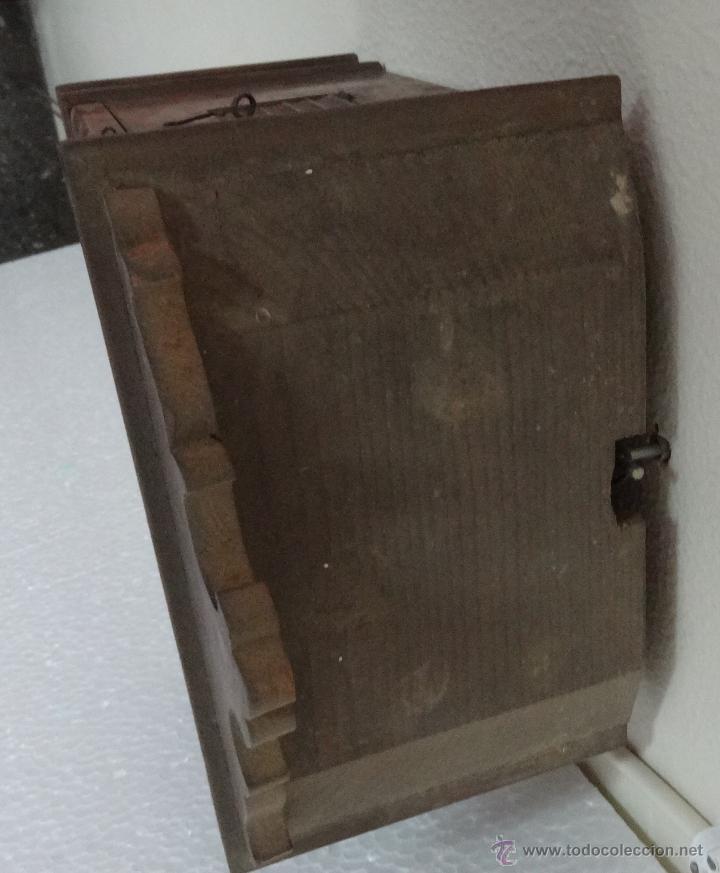 Relojes de pared: RELOJ DE PARED SELVA NEGRA CON COLUMNAS 1880 A 1915, 6000-095 - Foto 7 - 43449024