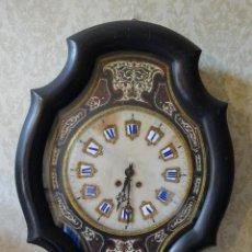 Relojes de pared: RELOJ DE PARED EN MADERA ESTILO ISABELINO SIGLO XIX-XX- 664. Lote 43844710