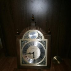 Relojes de pared: RELOJ DE PARED TEMPUS FUGIT COMPLETO. Lote 45723556