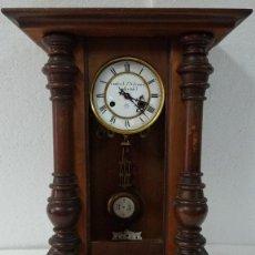 Relojes de pared: RELOJ DE PARED CON PÉNDULO UNGHANS´J- SIGLO XX - 70B. Lote 45834753
