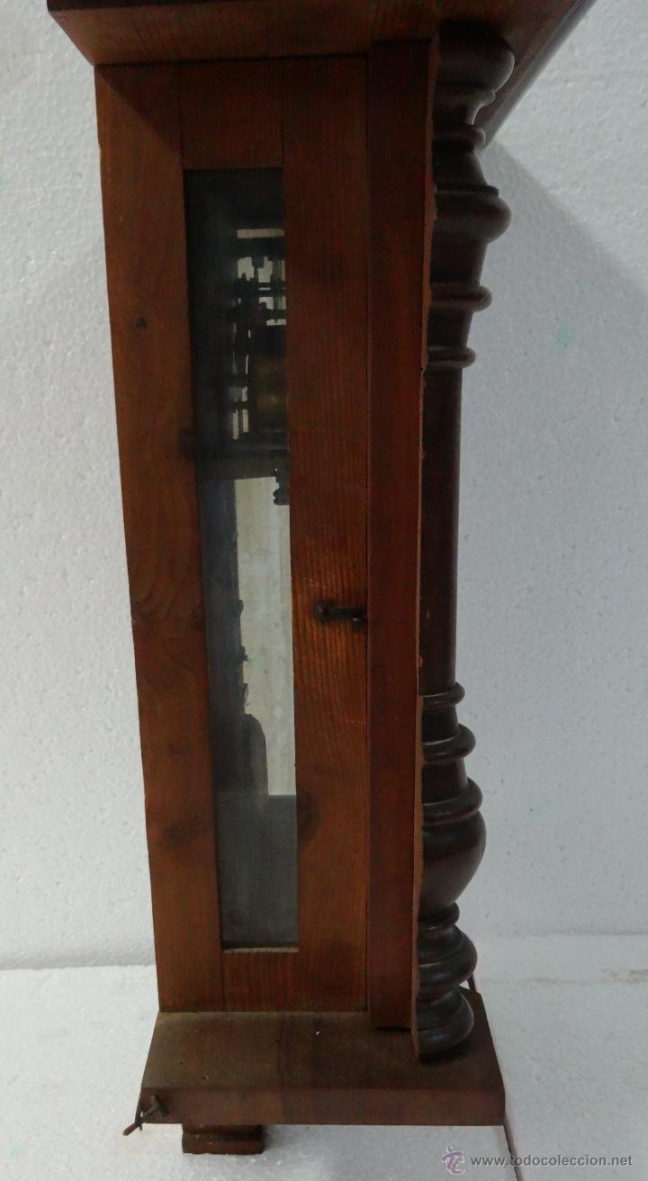 Relojes de pared: RELOJ DE PARED CON PÉNDULO UNGHANS´J- SIGLO XX - 70B - Foto 4 - 45834753