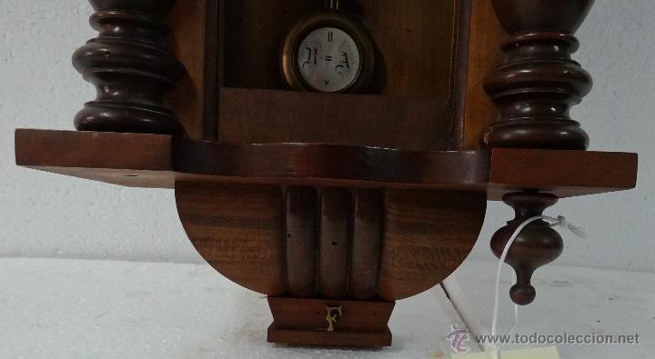 Relojes de pared: RELOJ DE PARED CON PÉNDULO UNGHANS´J- SIGLO XX - 70B - Foto 5 - 45834753