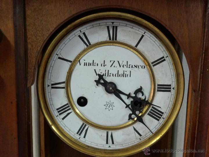 Relojes de pared: RELOJ DE PARED CON PÉNDULO UNGHANS´J- SIGLO XX - 70B - Foto 6 - 45834753