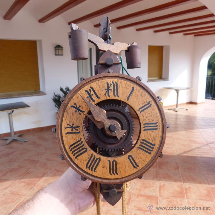 Raro y curioso reloj de pared con contrapeso y comprar - Mecanismo reloj pared ...
