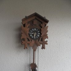 Relojes de pared: ANTIGUO RELOJ MADERA ALEMÁN CUCO CUCU. Lote 45992927