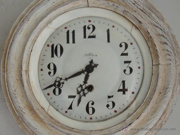 Relojes de pared: BONITO RELOJ DE PARED EN DECAPE - Foto 2 - 46581062
