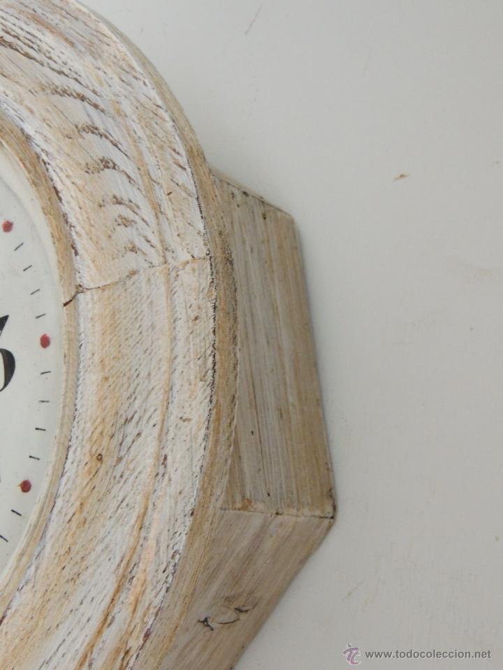 Relojes de pared: BONITO RELOJ DE PARED EN DECAPE - Foto 3 - 46581062