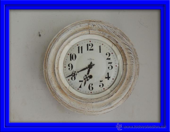 BONITO RELOJ DE PARED EN DECAPE (Relojes - Pared Carga Manual)