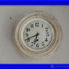 Relojes de pared: BONITO RELOJ DE PARED EN DECAPE. Lote 46581062