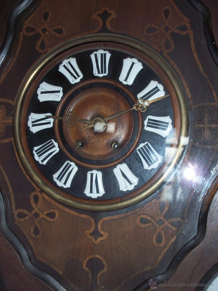 Relojes de pared: RELOJ DE PARED ANTIGUO - Foto 2 - 46663446